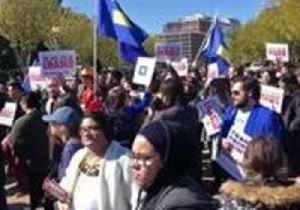 Transgender People, Allies Protest in Front of White House [Video]
