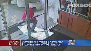 News video: Fox 5 DC Security Guard Shoots Suspect Trying To Enter TV Station