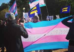 In Front of White House, Trans Protesters, Allies Chant, 'We Will Not Be Erased' [Video]