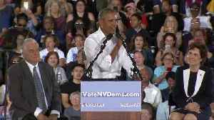 Obama hits the campaign trail for Democrats [Video]