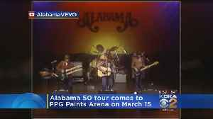 Alabama Stopping In Pittsburgh For 50th Anniversary Tour [Video]
