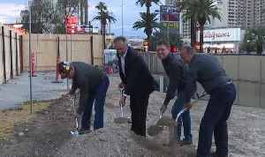 Groundbreaking for new Las Vegas Strip pedestrian bridge [Video]