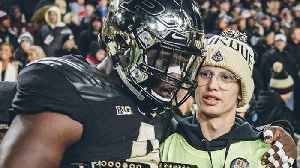 Purdue Student With Cancer Tyler Trent Inspires Upset Over Ohio State [Video]