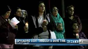 Spreading light during a dark time. [Video]