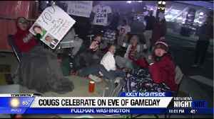 Excitement in Pullman builds on the eve of GameDay [Video]