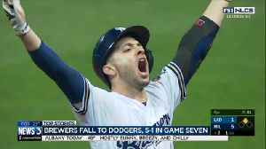 Milwaukee Brewers lose 5-1 against LA Dodgers [Video]