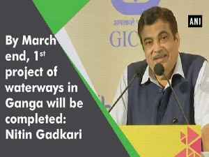 By March end, 1st project of waterways in Ganga will be completed: Nitin Gadkari [Video]