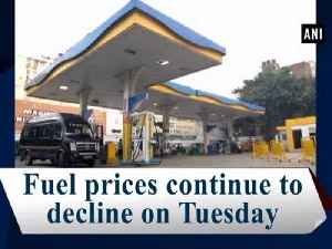 Fuel prices continue to decline on Tuesday [Video]