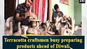 Terracotta craftsmen busy preparing products ahead of Diwali [Video]