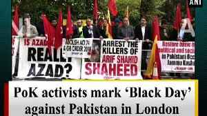 PoK activists mark 'Black Day' against Pakistan in London [Video]