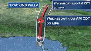 Hurricane Willa hits Mexico, aims for Texas [Video]