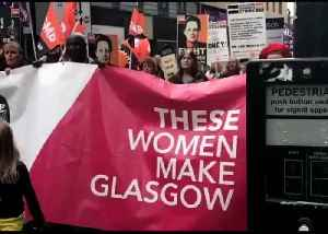 Thousands of Female Council Workers March Through Glasgow in Equal Pay Row [Video]
