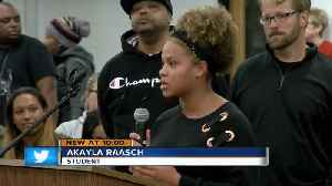 Greendale HS student says she was suspended for confronting someone who called her the N-word [Video]