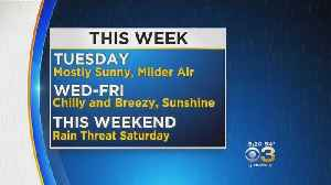 Monday Evening Forecast: Dry Through The Work Week [Video]