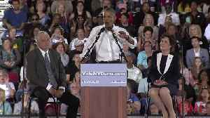 Obama Rails Against Republicans in Fiery Nevada Rally [Video]