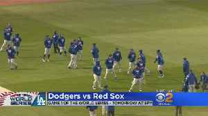 Dodgers, Fans To Brave The Cold For World Series Game Against Red Sox [Video]