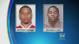 Murder Suspects Arrested After Police Chase Ends In Miami [Video]