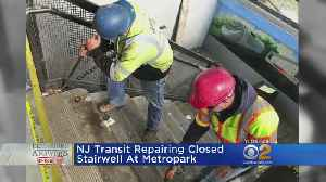 NJ Transit Fixing Station Stairs Closed For Months [Video]