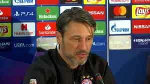 Bayern's Kovac says he is never afraid but respects AEK [Video]