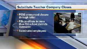 Thousands of substitute teachers in MI affected after company abruptly shuts down [Video]