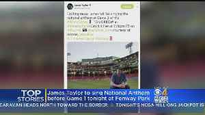 James Taylor To Sing National Anthem At Fenway For Game 1 Of World Series [Video]