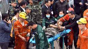 China: 18 Trapped In Coal Mining Tunnel [Video]