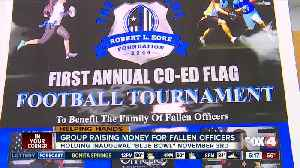 Blue Bowl flag football tournament to benefit families of fallen officers [Video]
