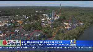 Six Flags New England Makes World Series Bet With LA Counterpart [Video]