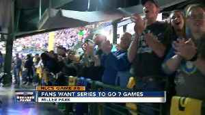 Fans Want Series to Go 7 Games [Video]