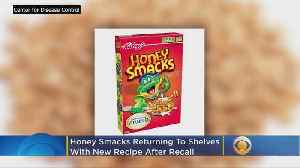 Honey Smacks Returns To Shelves With New Recipe After Recall [Video]