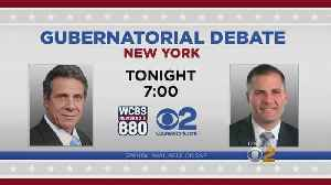 Cuomo, Molinaro To Debate Tonight At 7 P.M. [Video]