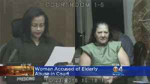 Woman Involved In Elderly Abuse Appears In Bond Court [Video]