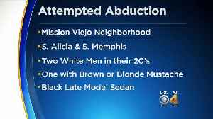 Aurora Police Search For Attempted Abduction Suspects [Video]