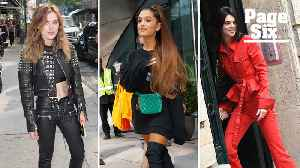These celebrities don't let weather get in the way of fashion [Video]