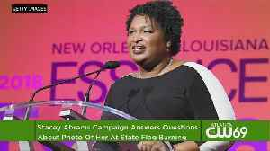 Abrams Defends Burning State Flag In '92 [Video]