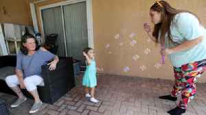 Panhandle family finds temporary home in Coral Springs [Video]