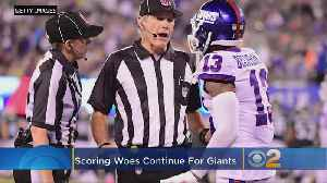 Giants At A Loss To Explain Season-Long Scoring Woes [Video]