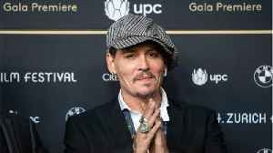 Johnny Depp to Play War Photographer In New Film [Video]