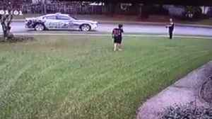 Police Officer Sees Boy Throwing Football by Himself and Stops to Play Catch [Video]