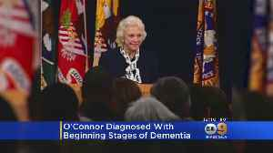 Former Supreme Court Justice Sandra Day O'Connor Diagnosed With Dementia [Video]