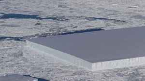 Image Of Rectangular Iceberg Went Viral. Now NASA Has Released Its Video Footage [Video]