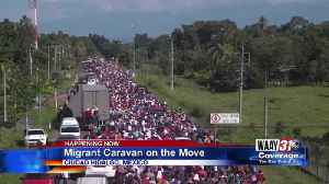 Migrant Caravan on the move [Video]