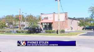 AT&T store burglarized [Video]