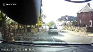 Shocking video shows man driving down wrong side of the road [Video]