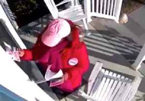 Delaware Congressional Candidate Caught Stealing Opponent's Campaign Literature [Video]