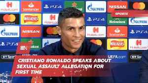 Cristiano Ronaldo Opens Up About Sexual Assault Accusations [Video]