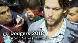 Clayton Kershaw on what went wrong in Game 1 of the World Series [Video]