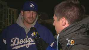 News video: Down But Not Out: Dodgers Fans Remain Optimistic Despite Loss