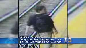 Police Search For Suspect Who Attacked Temple Student On Train [Video]
