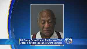 Bill Cosby Denied New Trial, Reduced Sentence [Video]